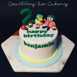 Sarah and Duck Cake