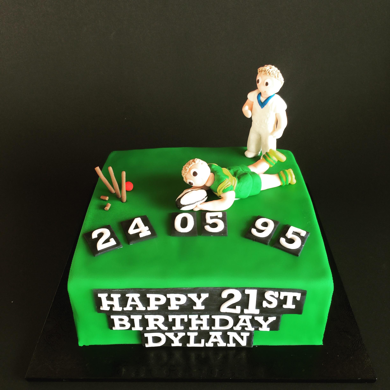Sportsman 21st Cake
