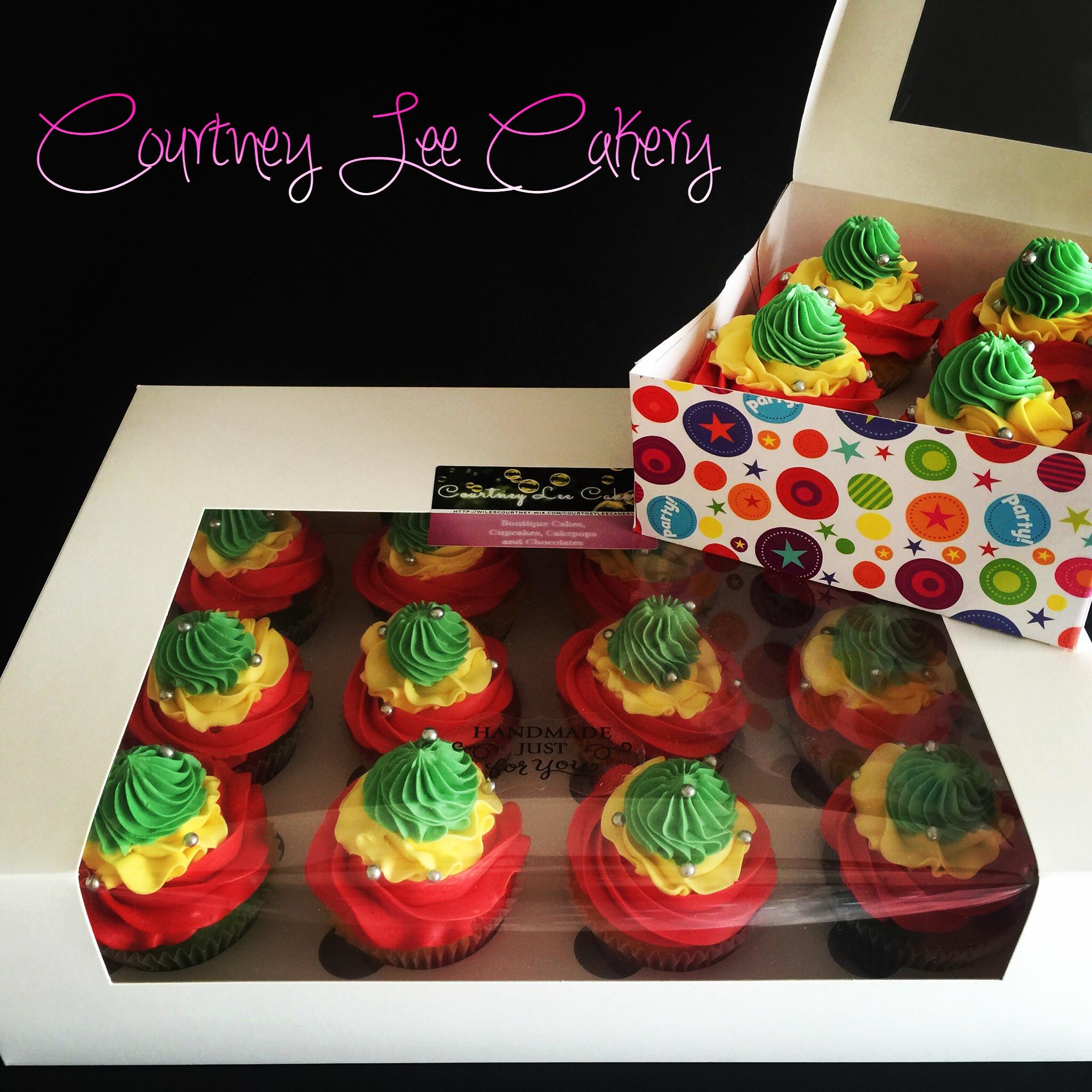 Rastafarian Cupcakes
