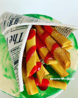 Hot Chips Cake