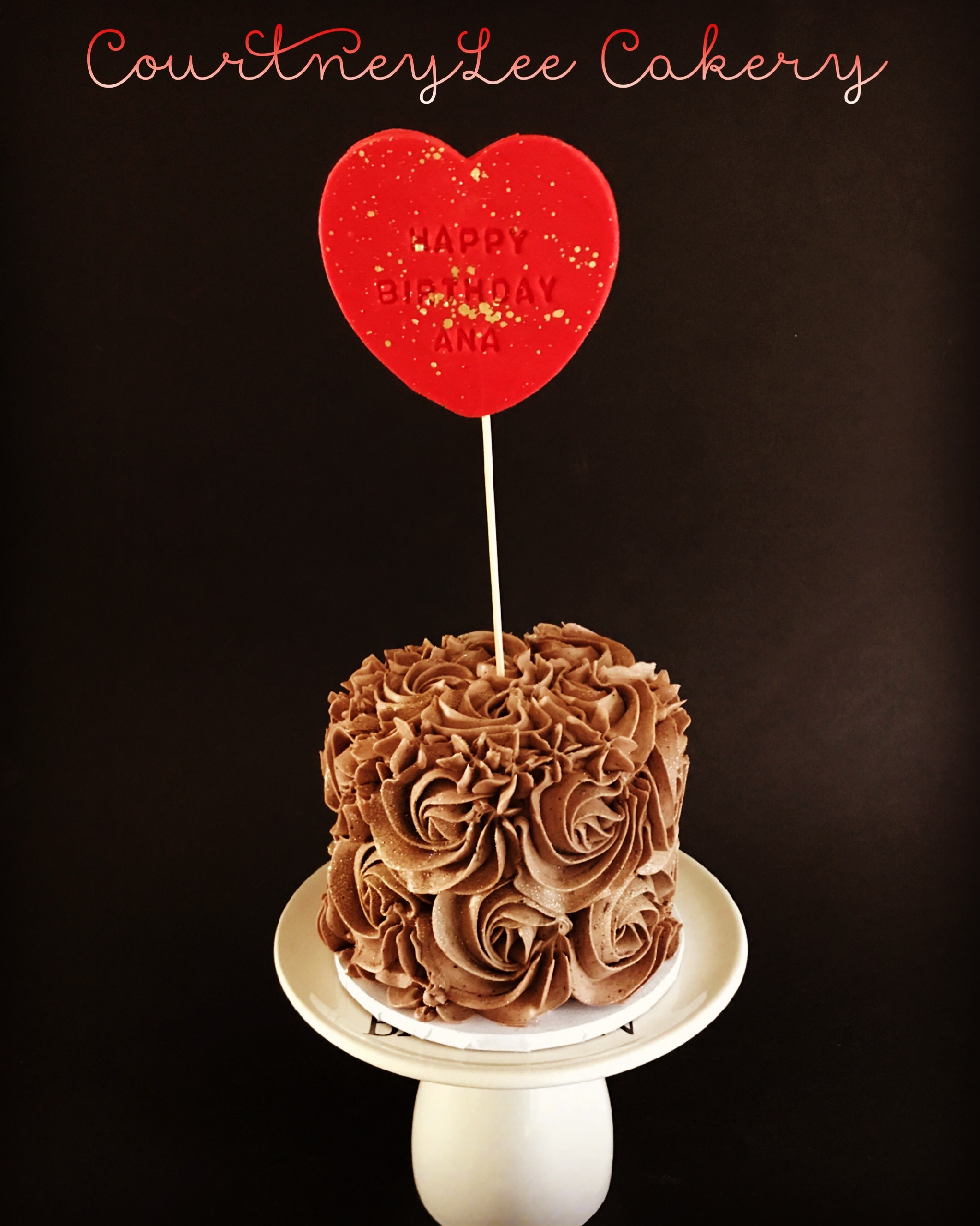 Mini Rosette Cake