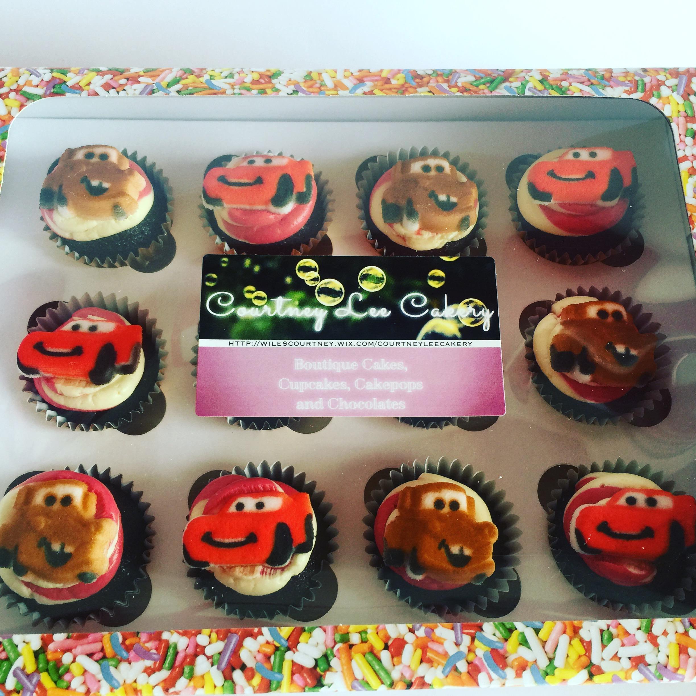 Cars Mini Cupcakes