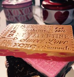 Valentines Day Chocolate Bars