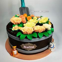 Roses Garden Cake