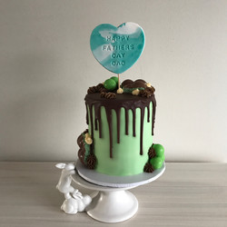 Mini Fathers Day Cake