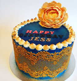 Jess' Birthday Cake