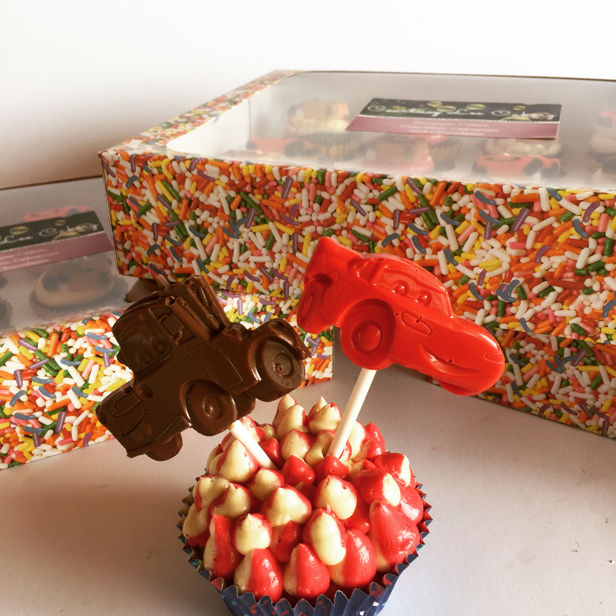 Cars Cupcakes and minis