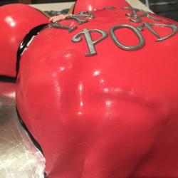 Twins Preggy Belly Cake