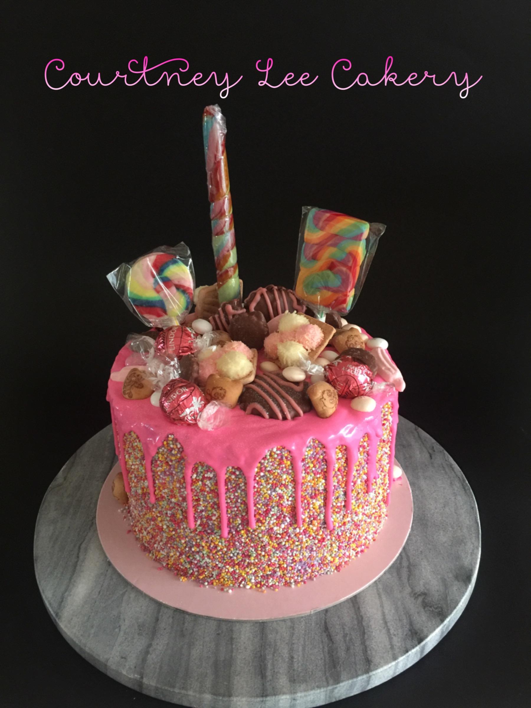 Loaded Girly Cake