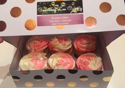 Raspberry Vanilla Cheesecake Cupcake