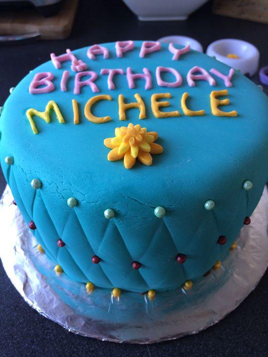 Michelle's Birthday Cake