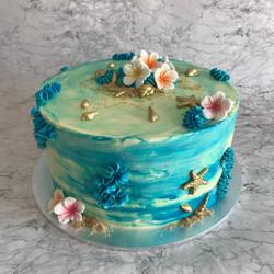 Sea meets Shore Cake