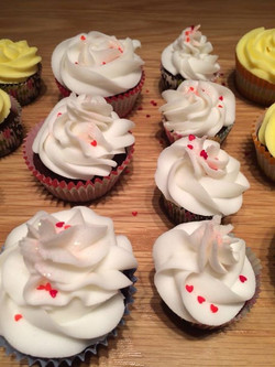 Facebook - Chocolate caramel Cupcakes with 2 different icings, coconut and peppe