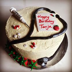 Doctors birthday cake