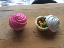 Easter Chocolate cupcake pots