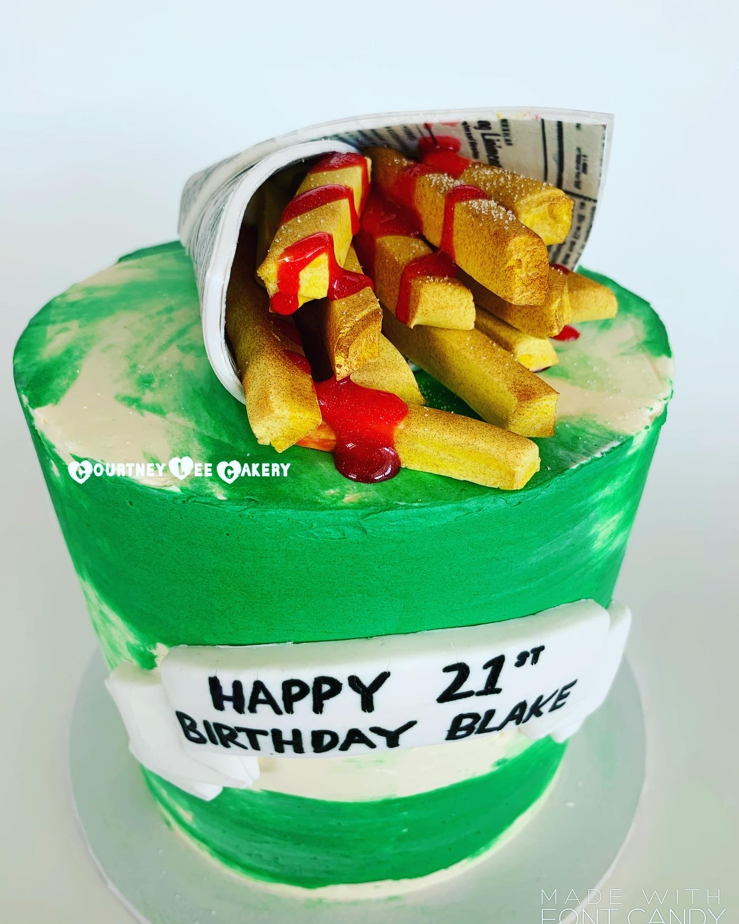 Hot Chips Cake