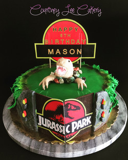 Jurassic Park Cake 2