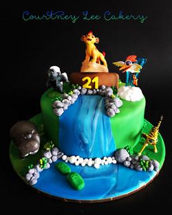 Lion King Cake