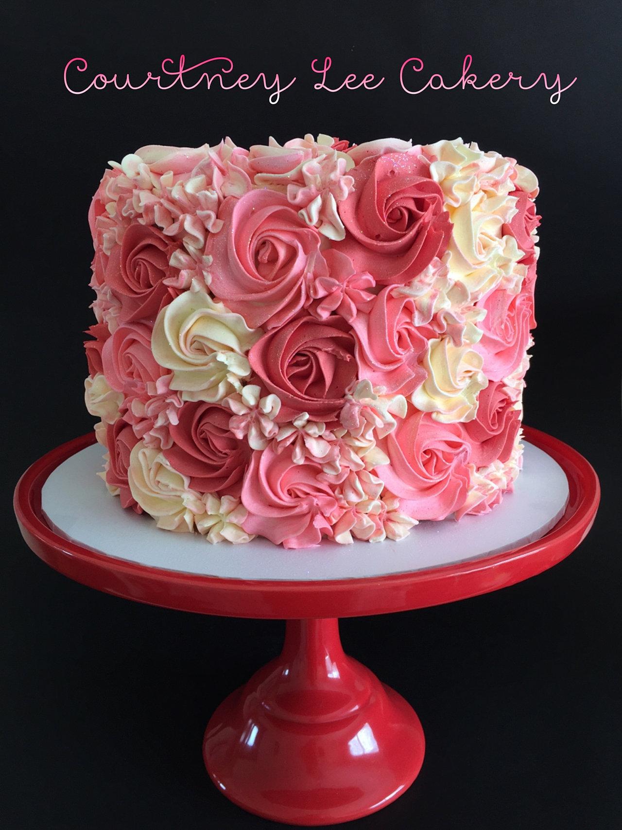 Rosette Cake Decorating Smartpros Us