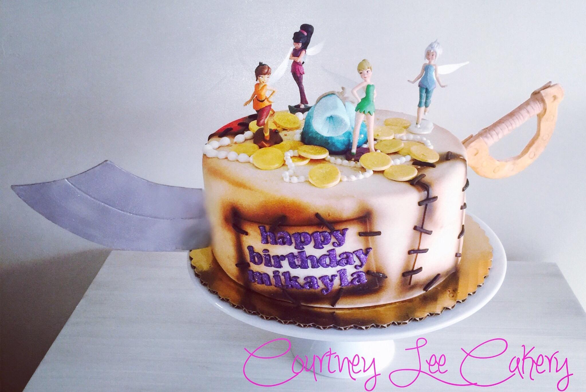Fairy Pirate Cake