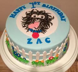 Hairy McClary Cake