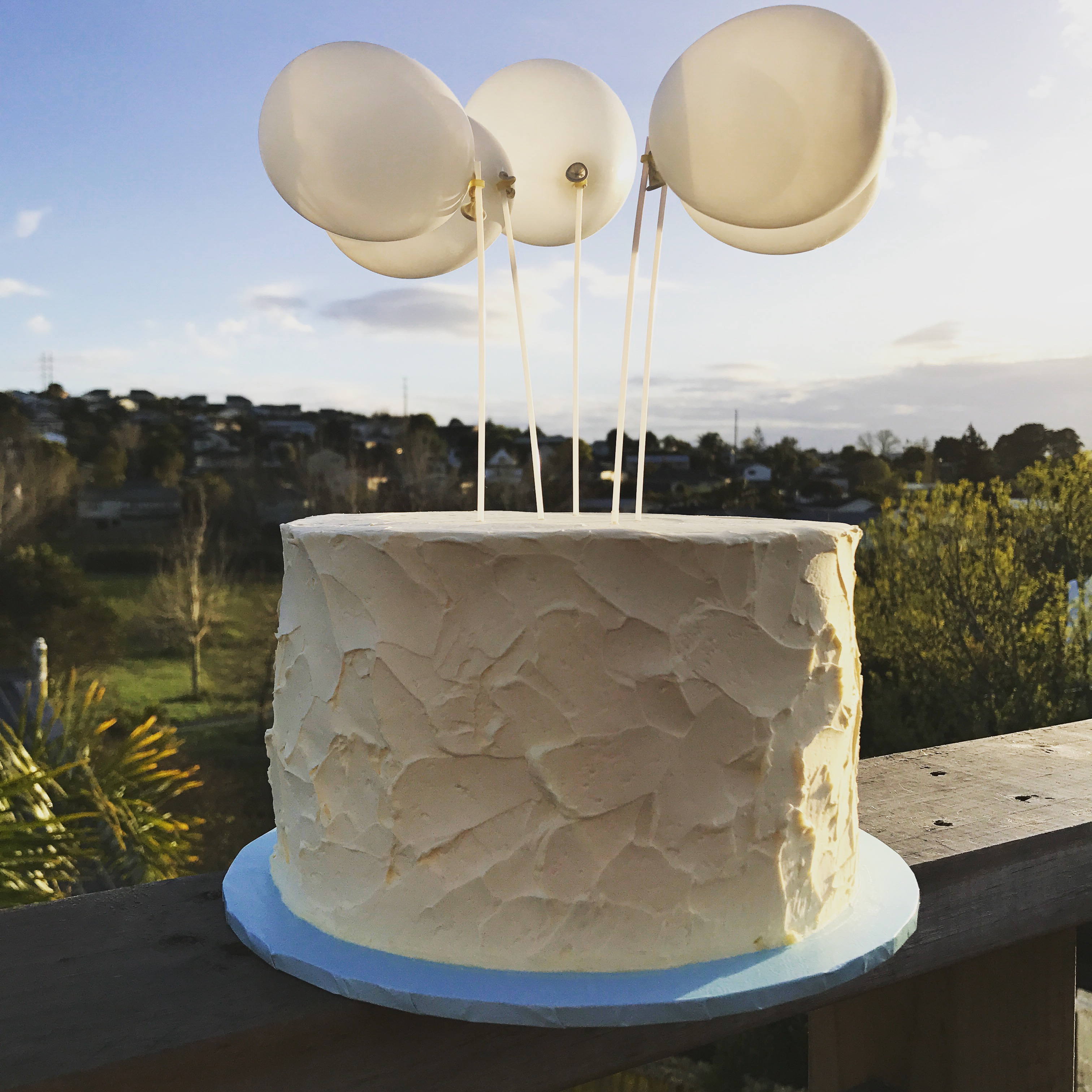 Buttercream Texture Cake