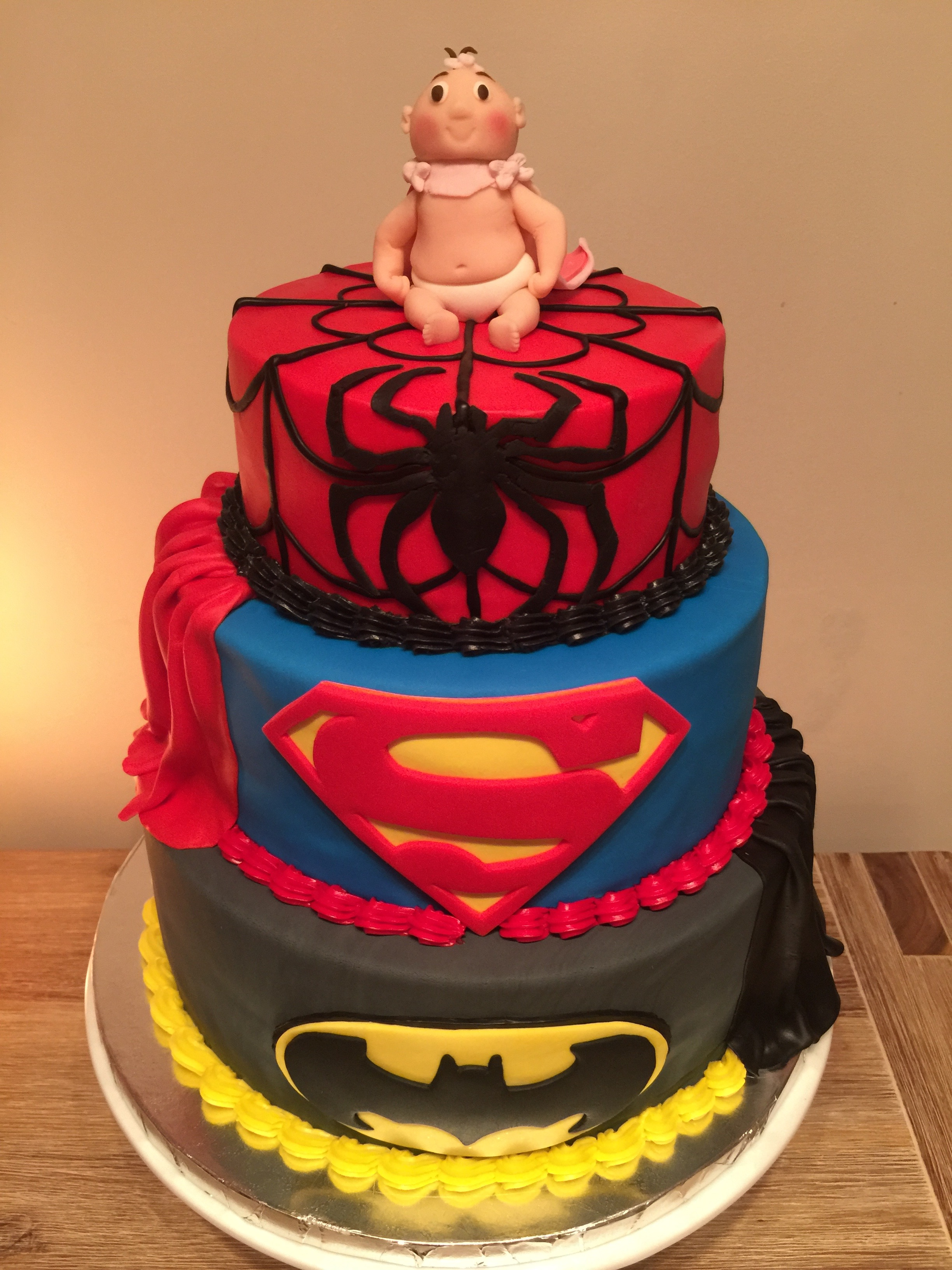 Super Hero Baby Shower