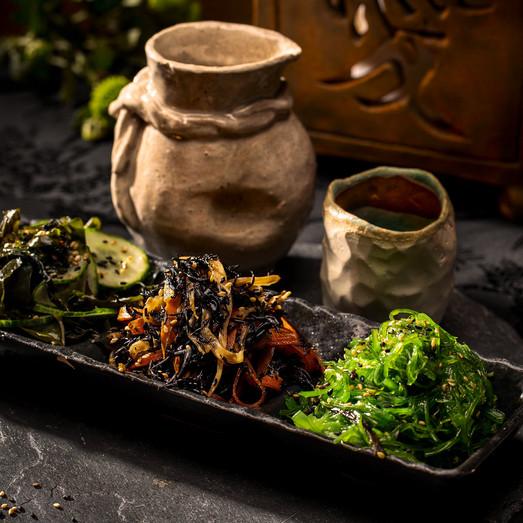 Tapas Variadas Okami Restaurante Japonés Málaga