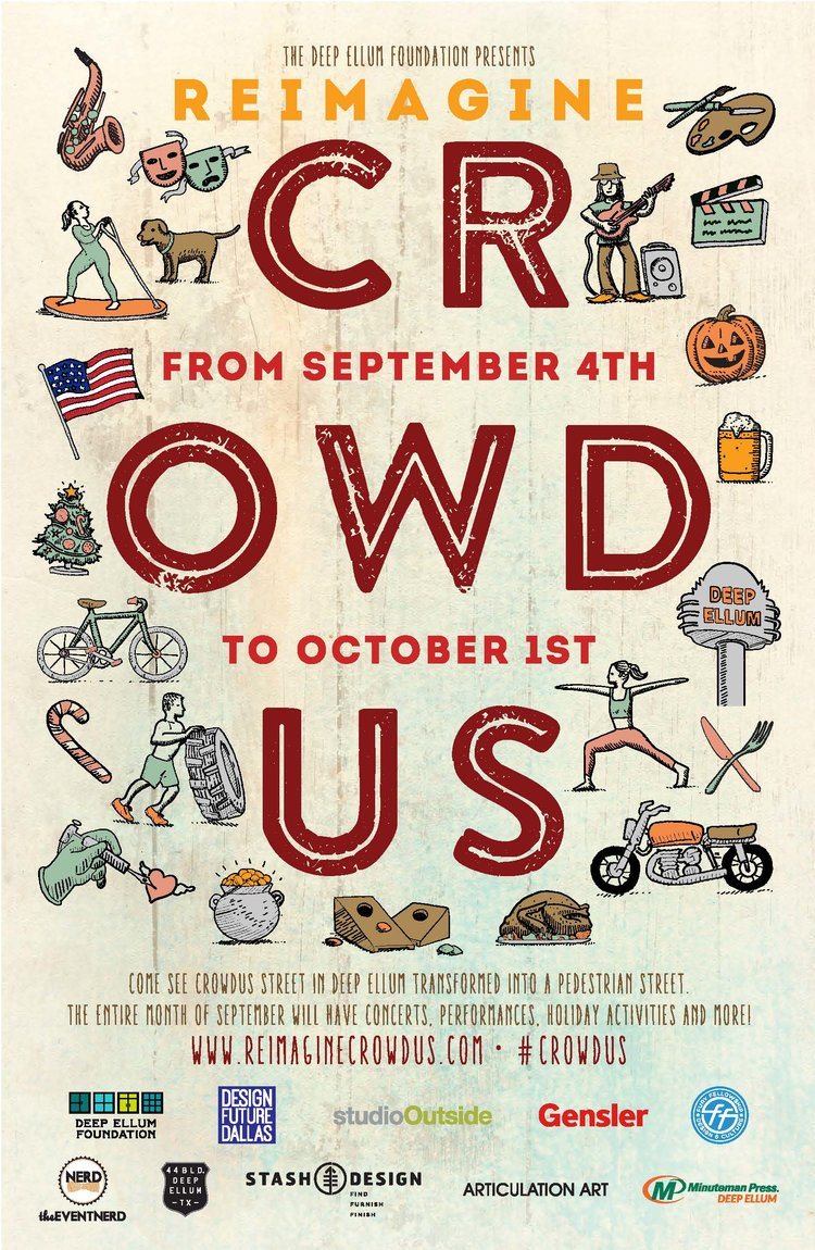 Crowdus Poster
