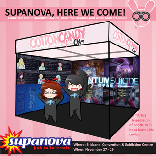 Cotton Candy Cyanide will be at SUPANOVA - 29th Nov BRISBANE.