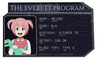 Quantum Suicide's Character Profile - Melody.