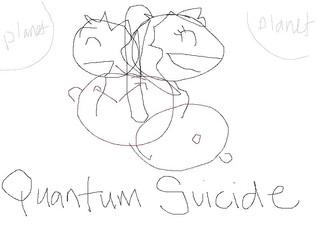 Designing QUANTUM SUICIDE'S logo