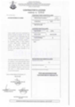 contractor's license, PCAB License, Asckon PCAB License