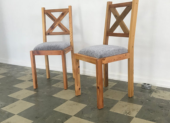Fenway Dining Chair w/ Upholstered Seat