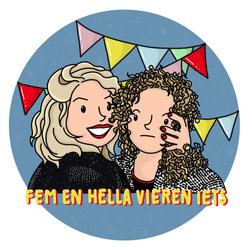logo Fem en Hella vieren iets