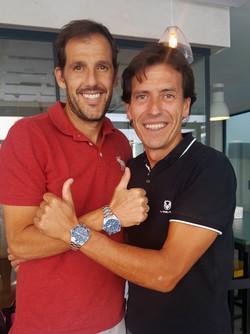 Juan Martín Díaz y Jon García