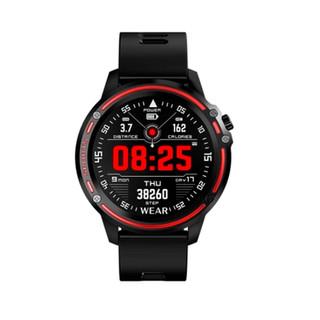Reloj Smartwatch RS negro y rojo