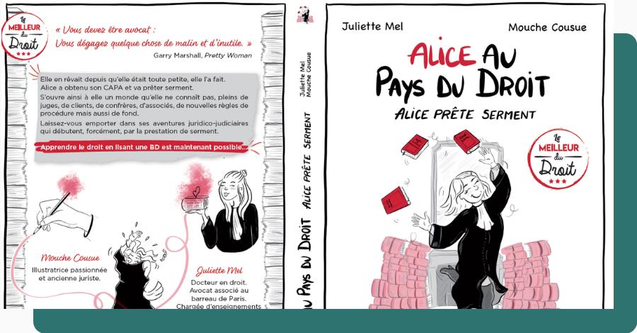 Alice au Pays du Droit - Tome 1 : Alice prete serment