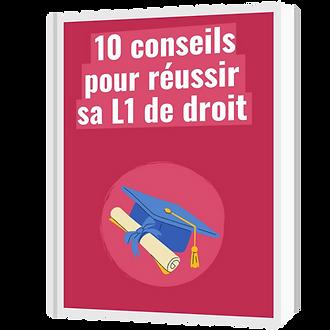 10 conseils pour reussir sa L1 Droit