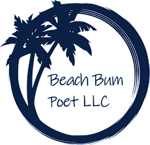 beach bum poet llc professional logo