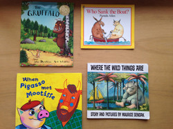 Some of our English books