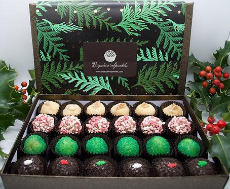 Holiday Box of 24 Brigadeiros