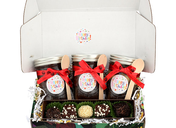 Birthday Brigadeiro Gift Box