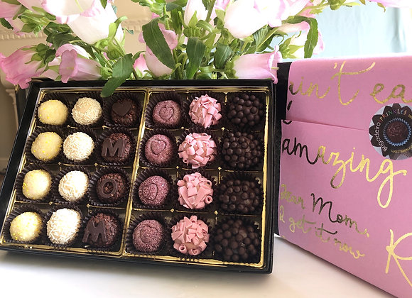 Mother's Day Brigadeiro Box with 24