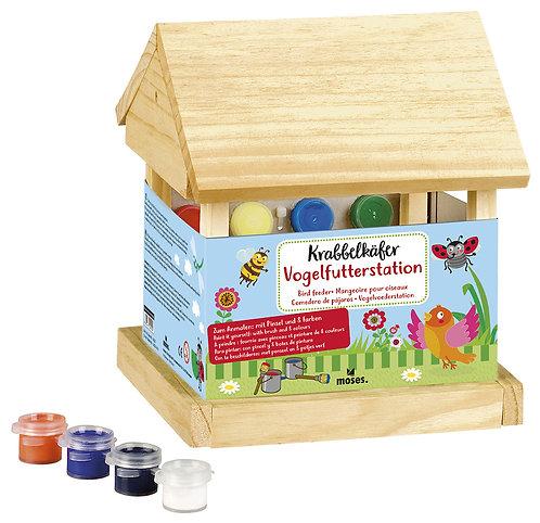 Vogelfutterstation / Vogelhaus zum Selbermachen - Krabbelkäfer
