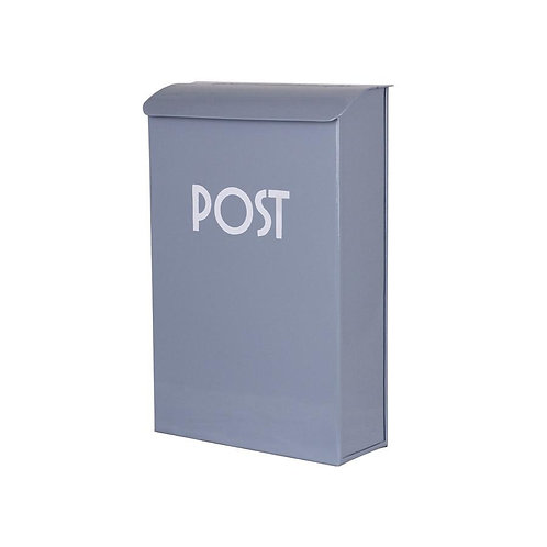 Vintage Postkasten, Briefkasten, hellblau