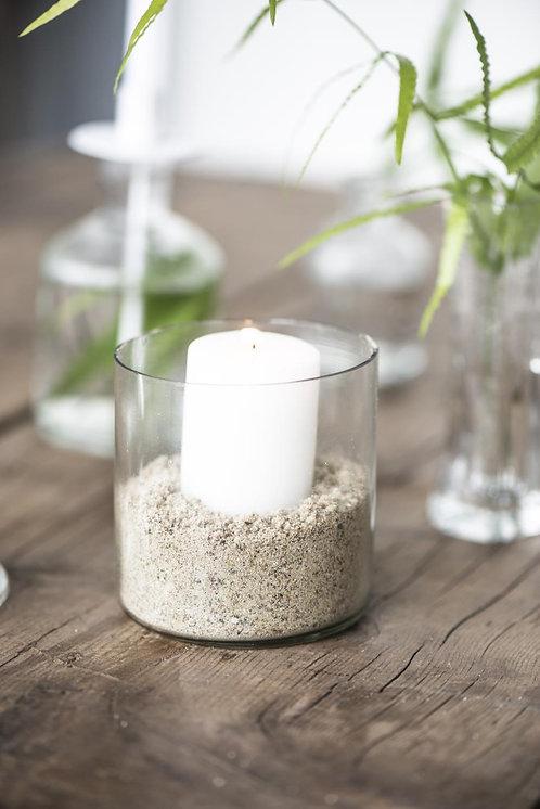 Teelichthalter / Glas, klein