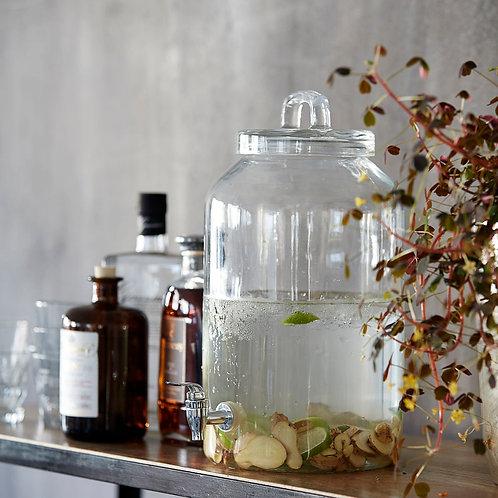 Getränkespender, Wasserspender, Glas