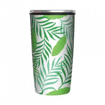 Thermosbecher / Kaffeebecher - Motiv Dschungel