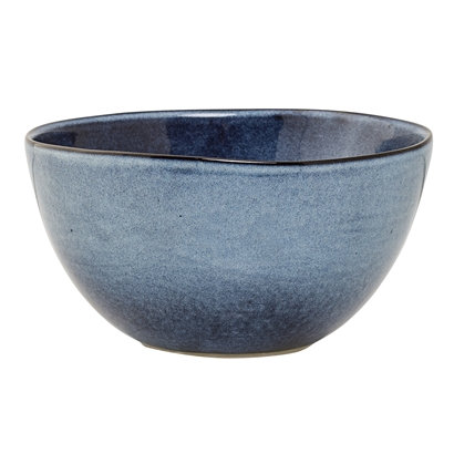 Schale, Müslischale, Suppenschale, Bloomingville Sandrine, blau